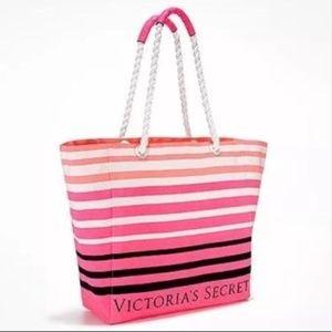 Victoria's Secret PINK Striped Beach Tote